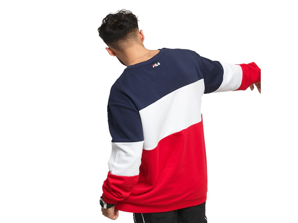 Fila Straight Blocked Crew